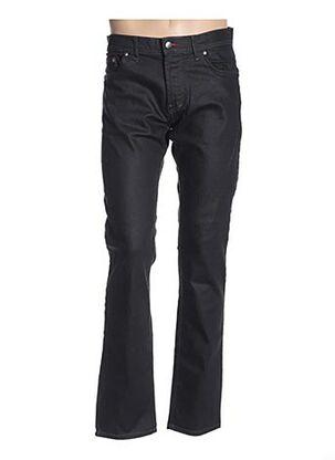 Jeans coupe droite bleu GS CLUB pour homme