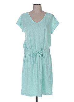 Robe mi-longue vert SKFK pour femme