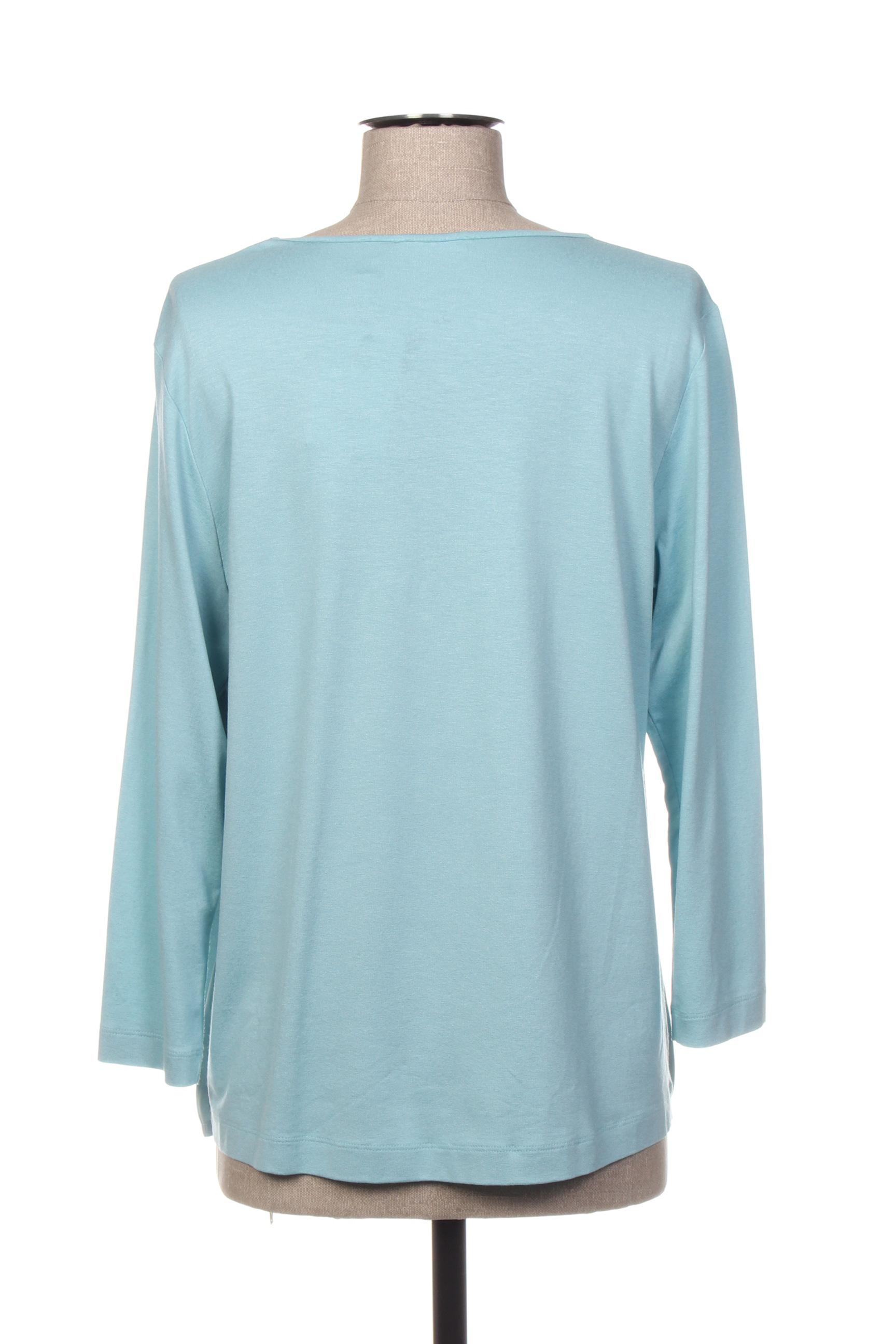 Rabe Blouses Femme De Couleur Bleu En Soldes Pas Cher 1416055-bleu00