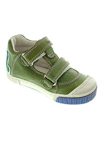 Sandales/Nu pieds vert ROMAGNOLI pour garçon