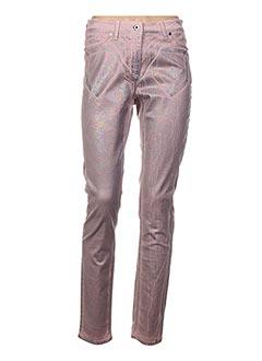 Pantalon casual rose AIRFIELD pour femme