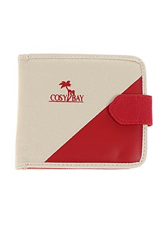 Portefeuille rouge COSY BAY pour femme