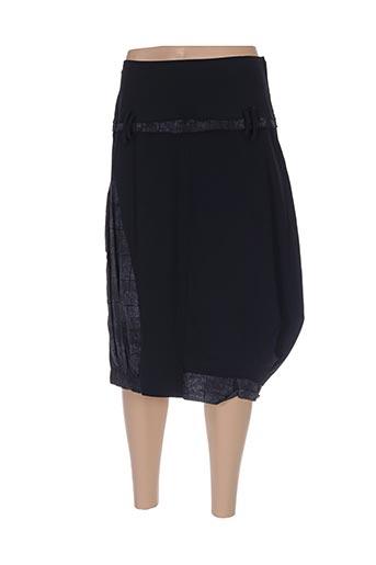 Jupe mi-longue noir A DRESS CONCEPT pour femme