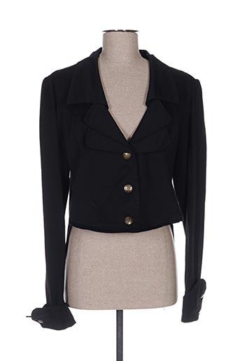 Veste casual noir AKELA KEY pour femme