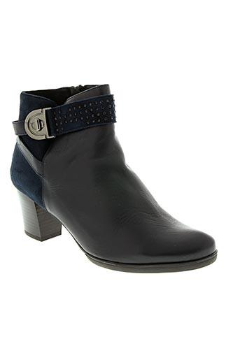 Bottines/Boots bleu J.METAYER pour femme