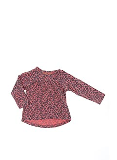 T-shirt manches longues rose TUMBLE'N DRY pour fille