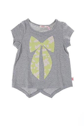 T-shirt manches courtes gris BILLIEBLUSH pour fille
