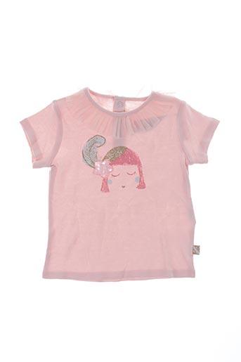 T-shirt manches courtes rose BILLIEBLUSH pour fille