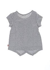 T-shirt manches courtes gris BILLIEBLUSH pour fille seconde vue