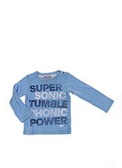 T-shirt manches longues bleu TUMBLE'N DRY pour garçon seconde vue