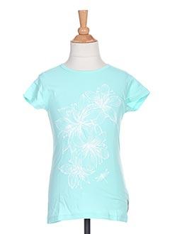 T-shirt manches courtes bleu TUMBLE'DRY pour fille
