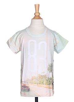 T-shirt manches courtes vert TUMBLE'DRY pour garçon