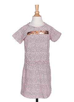 Robe mi-longue rose TUMBLE'DRY pour fille
