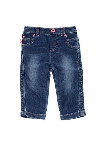 Jeans coupe droite bleu BILLIEBLUSH pour fille