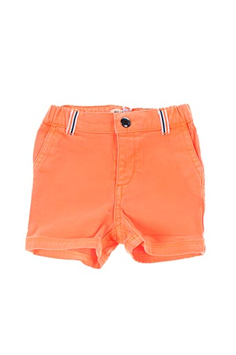 Short orange BILLYBANDIT pour garçon