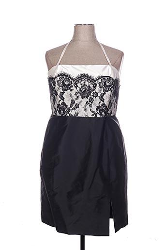 Robe mi-longue noir CLAIRMODEL pour femme