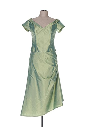 Veste/jupe vert CLAIRMODEL pour femme