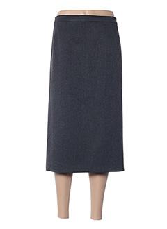 Jupe mi-longue gris FASHION COLLECTION pour femme