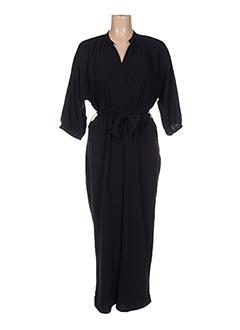 Combi-pantalon noir EMA BLUE'S pour femme
