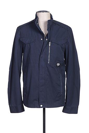 Veste casual bleu BENCH pour homme