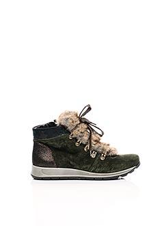 Bottines/Boots vert ARA pour femme