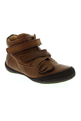 Bottines/Boots marron RONDINELLA pour fille