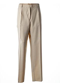Pantalon chic beige GRIFFON pour femme