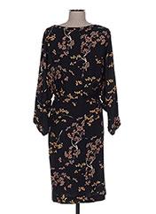 Robe mi-longue noir MY SUNDAY MORNING pour femme seconde vue