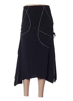 Jupe mi-longue noir FRANSTYLE pour femme