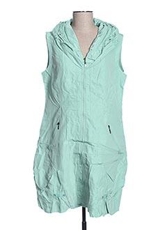 Robe courte vert FRANSTYLE pour femme