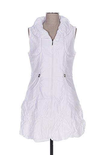 Veste casual blanc FRANSTYLE pour femme