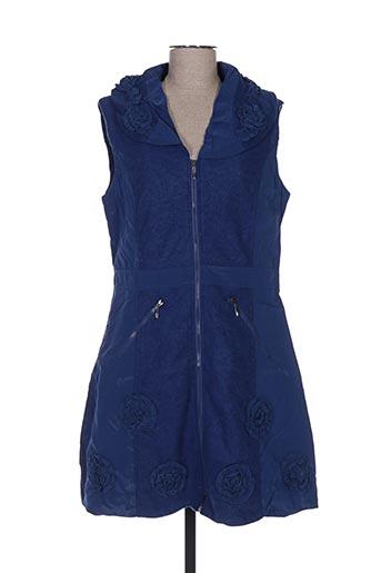 Veste casual bleu FRANSTYLE pour femme