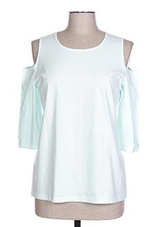 T-shirt manches longues bleu HAVREY pour femme