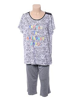 Pyjama bleu VANIA pour femme