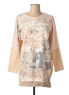Robe pull beige MAYORAL pour fille