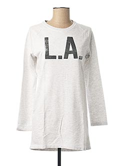 Robe pull gris NAME IT pour fille