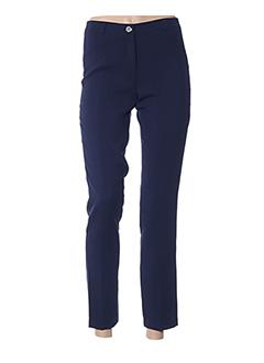 Pantalon 7/8 bleu DIVAS pour femme