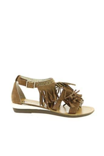 Sandales/Nu pieds marron COC'TAIL pour femme