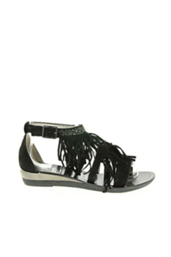 Sandales/Nu pieds noir COC'TAIL pour femme