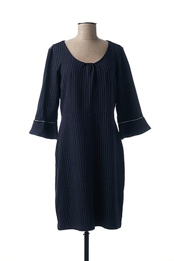 Robe mi-longue bleu JULIE GUERLANDE pour femme