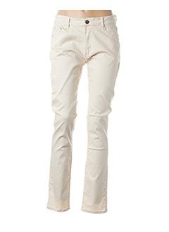 Pantalon casual beige B.S JEANS pour femme