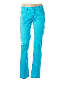 Pantalon casual bleu B.S JEANS pour femme
