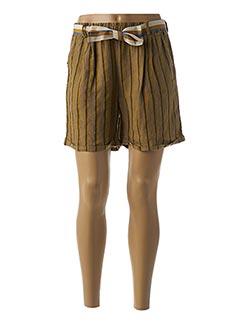 Produit-Shorts / Bermudas-Femme-PAKO LITTO
