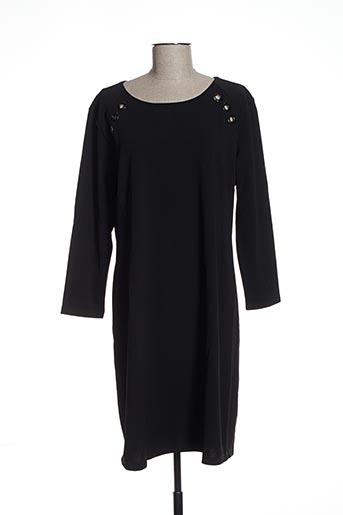 Robe mi-longue noir EYLEX pour femme