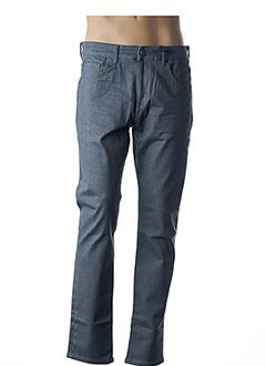 Jeans coupe slim gris PETROL INDUSTRIES pour homme