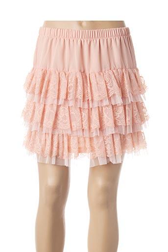 Jupe courte rose MOLLY BRACKEN pour femme