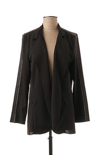 Veste chic / Blazer noir FRED SABATIER pour femme
