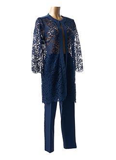 Veste/pantalon bleu EDAS pour femme