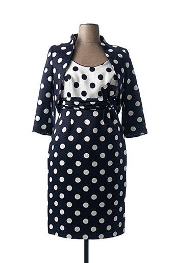 Veste/robe bleu SONIA PENA pour femme