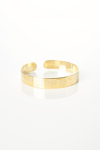 Bracelet Jonc jaune NOA-KIS pour femme